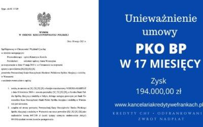 Unieważnienie kredytu PKO BP (Nordea). Wygrywamy na 2 rozprawie. Bank proponował ugodę